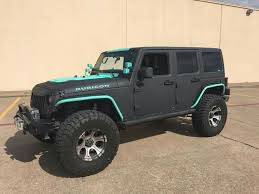 black and turquoise jeep jeep 2017 jeep rubicon black and teal jeep life off road jeep