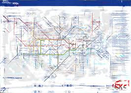 using the science of peripheral vision to test the tube map