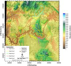 Map Of Grand Canyon Introduction How To Use The Field Guides U2013 In The Playground Of