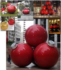 Commercial Christmas Pole Decorations by Giant Commercial Christmas Ornaments Holiday Decorations With