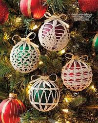 ornament cover crochet patterns ornament covers crochet pattern