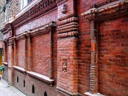 terra cotta decorative brick building