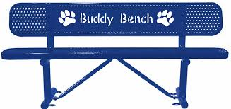 recreation today customized buddy bench friendship bench