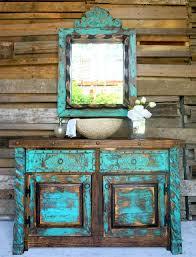 Turquoise Bathroom Vanity Agave Bathroom Vanity Sofia S Rustic Furniture
