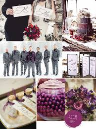 plum wedding purple hues for winter wedding color ideas and bridesmaid dresses