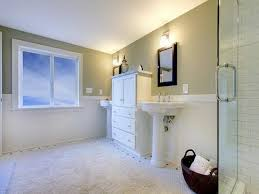 bathroom with wainscoting ideas wainscoting bathroom ideas with white carpet wainscoting bathroom