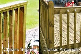 Types Of Banisters Outdoor Decking Balustrades