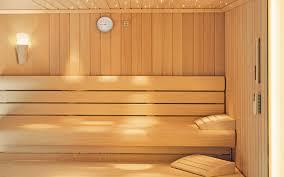 sauna glass doors infrared sauna residential prefab for indoor use proteo