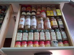 Spice Rack In A Drawer Organizing Spices U0026 Recipes Organize 365