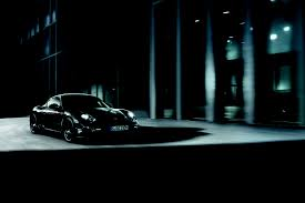 porsche headlights at night new porsche cayman s black edition with 330 horses and added features