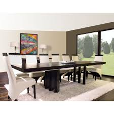 extended dining room tables verona rectangular extension dining table wenge hayneedle