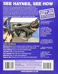 renault scenic petrol u0026 diesel sept 03 06 haynes repair manual