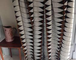 vintage curtains etsy