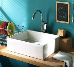 vasque cuisine à poser evier de cuisine a poser vasque en x cm lavabo lzzy co