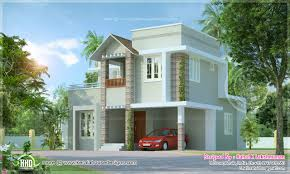 small cute villa in 1354 square feet kerala home design and