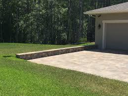 Paver Patio With Retaining Wall by Elite Pavers Of Tampa Bay Tampa U0027s 1 Brick Paver Installation
