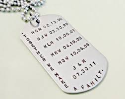 Personalized Mens Necklaces Custom Mens Jewelry Etsy