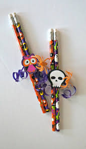 Halloween Appetizers Kids by Diy Halloween Pencil Favors Easy No Candy Halloween Treats For