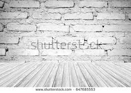 backgrounds wood texture white brick wall stock photo 127885292