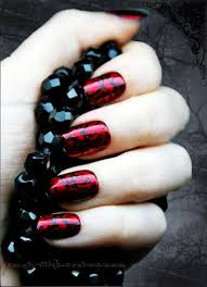 gothic nails art image collections nail art designs