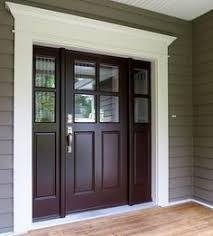 Paint For Doors Exterior It Is Not Just A Front Door It Is A Gate White Trim Front