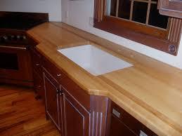 Undermount Sink In Butcher Block Countertop by Edge Grain Wood Countertops And Butcher Blocks Brooks Custom