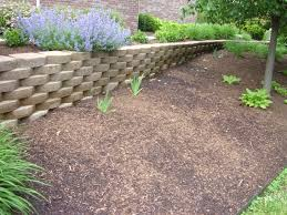 Backyard Retaining Wall Ideas Backyard Sloped Backyard Retaining Wall Steep Backyard Solutions