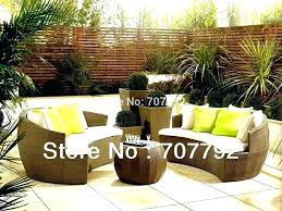 Curved Patio Sofa Curved Outdoor Sofa Set Patio Furniture Sets Travel Messenger