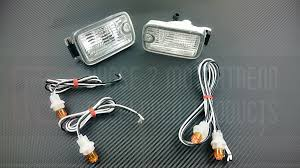 nissan 350z jdm tail lights p2m nissan 180sx jdm type x dual posts front position lights led