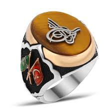 men ring design exclusive design silver men ring with tiger eye