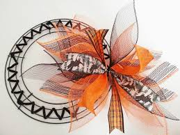 best 25 thanksgiving mesh wreath ideas on fall ribbon