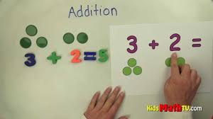 teach kids basic addition with the aid of chips and pictures 1st