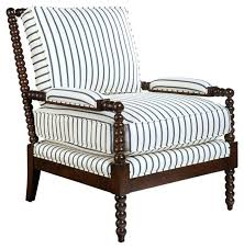 Black And White Striped Dining Chair Black And White Striped Chair Skyline Furniture Canopy Stripe