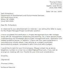 project manager cover letters 28 images sle project manager