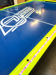 Best Air Hockey Table by Flash Air Hockey Table Rental Video Amusement San