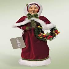 byers choice thanksgiving santa u0026 mrs claus