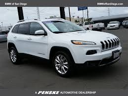 lexus of san diego parts 2016 used jeep cherokee fwd 4dr limited at bmw of san diego