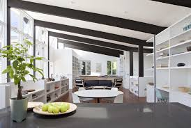 San Francisco Home Decor Midcentury Modern Ceiling Beams Architecture Warms San
