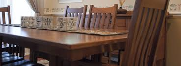 solid wood handcrafted dining room furniture u2013 plain and simple