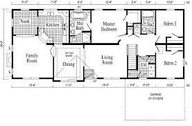 ranch style house floor plans floor plan corglife basements home finished garage side photos