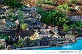 Steep Hill Backyard Ideas Landscape Hill Ideas Waterfalls Rocks Steep Hill Backyard