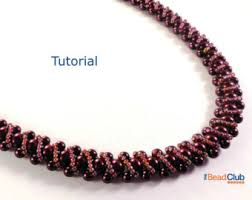 necklace patterns with beads images Necklace pattern etsy jpg