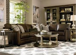 Classic Livingroom Leather Sectional Sofas To Complete Your Living Room Image