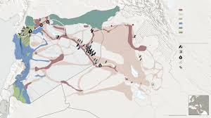 Palmyra Syria Map by Syria Oil Map The Journey Of A Barrel Of Isis Oil