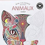 Mini coloriage antistress animaux  Marabout  Babelio