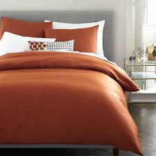 Red Duvet Set Tencel Duvet Cover Shams West Elm