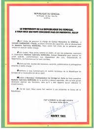 certificat de capacitã de mariage mission consulat honoraire de la république du sénégal siege