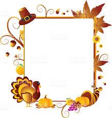 thanksgiving frame stock vector 483871939 istock