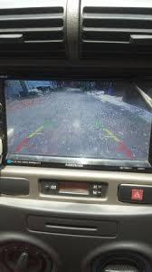 diy pasang kamera mundur mobil xenia avanza rear camera