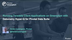 demo running teradata client applications on greenplum with hyper